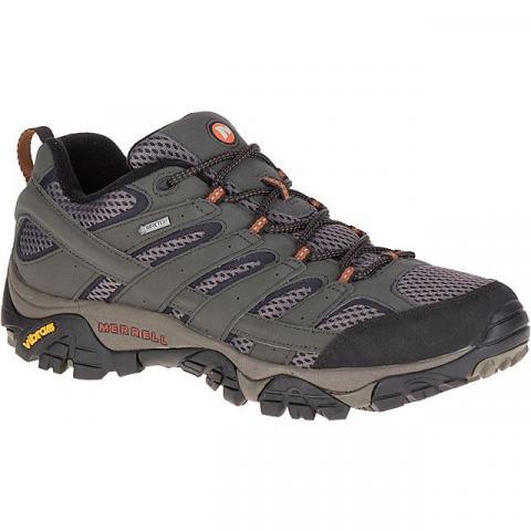 Merrell Men's Moab 2 GORE-TEX Shoes (Full Sizes), BELUGA