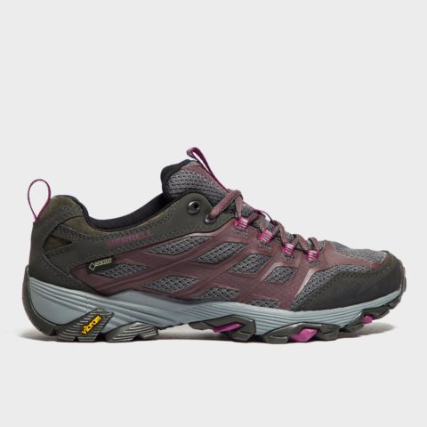 Merrell Women's Moab FST GORE-TEX Shoes - Grey, Grey