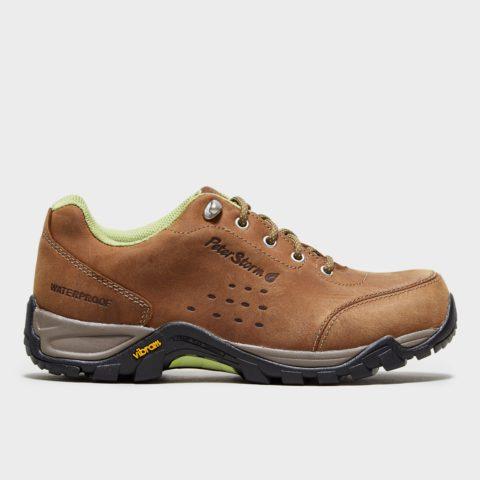 Peter Storm Women's Grizedale Walking Shoe - Brown, Brown