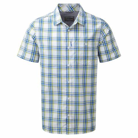 Craghoppers Mens Edgard Short Sleeved Shirt