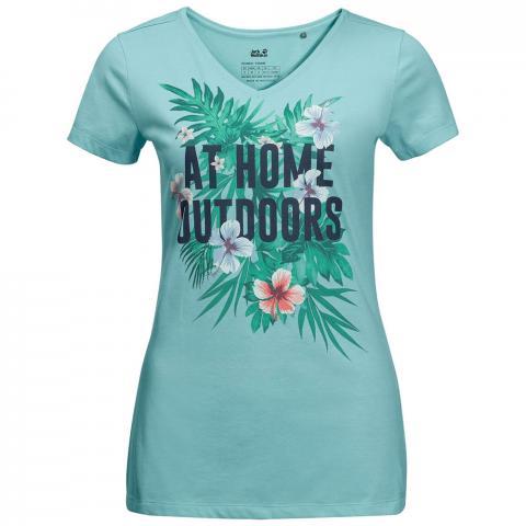 Jack Wolfskin Womens At Home T-Shirt