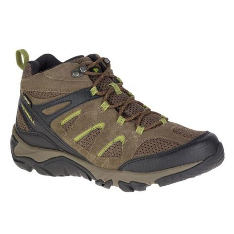 Merrell Mens Outmost Mid Ventilator GORE-TEX Hiking Boots