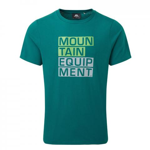 Mountain Equipment Mens Block Letter T-Shirt