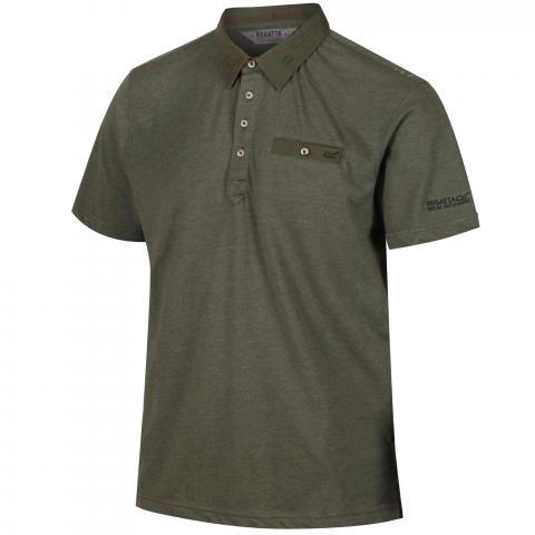 Regatta Mens Brantley Coolweave Polo Shirt