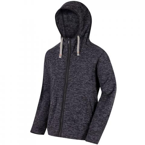 Regatta Mens Laikin Full Zip Hooded Fleece