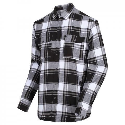 Regatta Mens Tygo Lined Long Sleeved Shirt