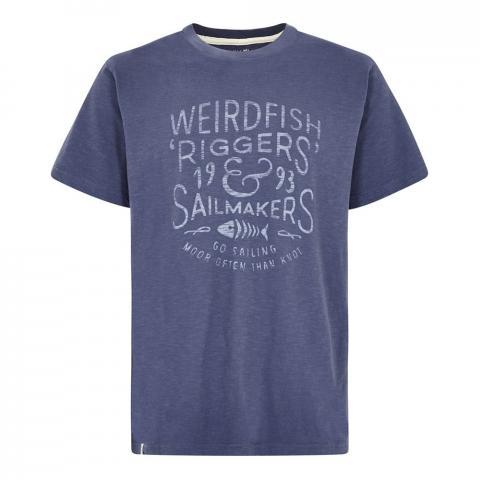 Weird Fish Mens Riggers T-Shirt