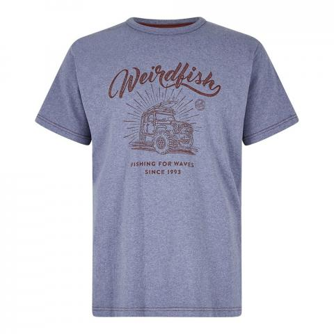 Weird Fish Mens Surf School T-Shirt