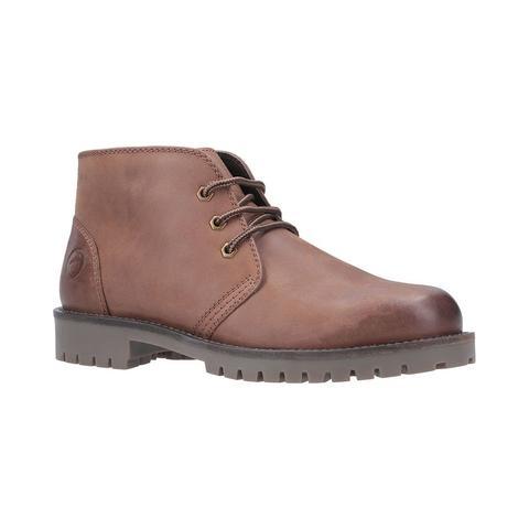 Cotswold | Stroud Lace Up Shoe Boot - Men's | Mens Boots | Tan