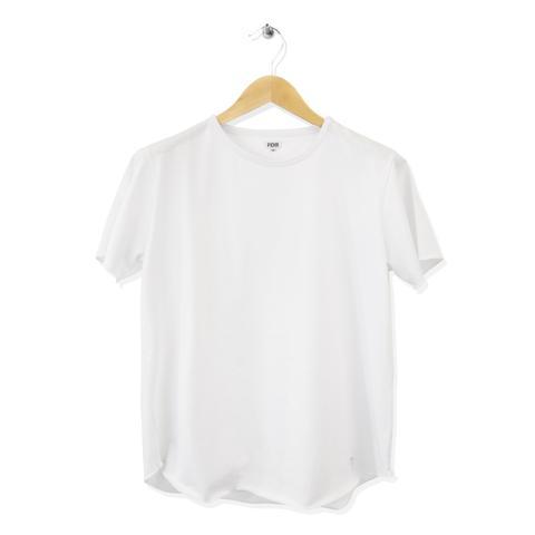 FIDIR | Men's T-Shirt | Plain T-Shirt For Men | Crew Neck Tee | White
