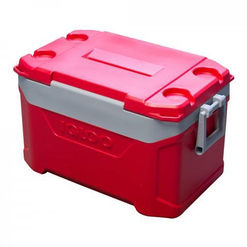 Igloo Latitude 50 Cool Box 47L-Red