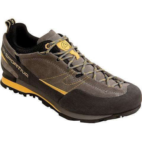 LA Sportiva Men's Boulder X Approach Shoes, DK GREY-YELLOW/GRY/YEL