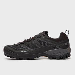 Mammut Men's Ducan Low Gore-Tex Hiking Shoes - Black, Black
