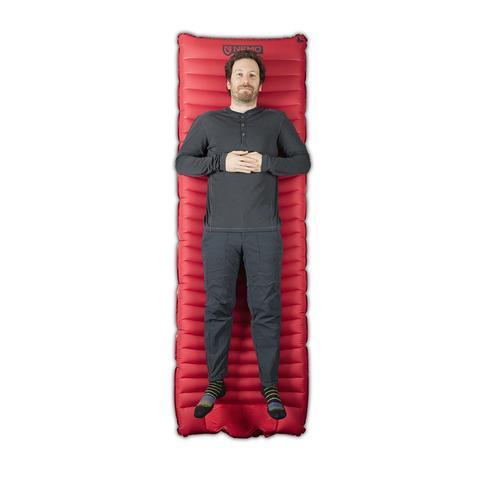 NEMO Equipment | Cosmo 3D Camping Mat + Foot Pump | Sleeping Mat
