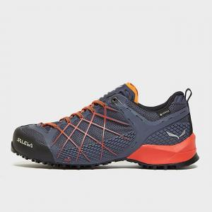 Salewa Men's Wildfire GORE-TEX Approach Shoes, Navy/ORG