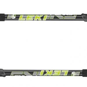 Leki Peak 3 Walking Poles (Pair), BLK-WHI-GRE/[PAIR]