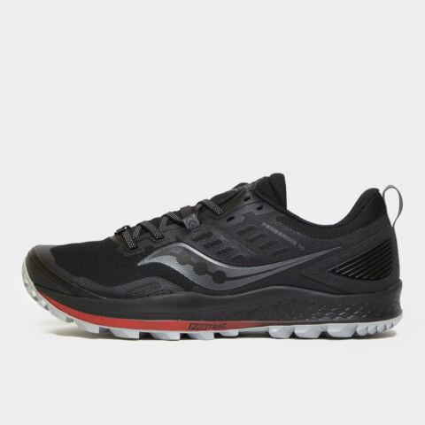 Saucony Men's Peregrine 10 Trail Running Shoes - Blk/Blk, BLK/BLK