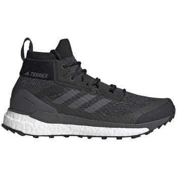 adidas Terrex Free Hiker men's Mid Boots in Grey