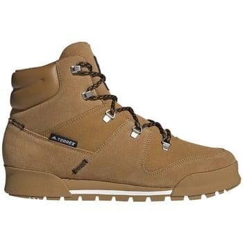 adidas Terrex Snowpitch men's Mid Boots in Brown