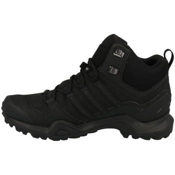 adidas Terrex Swift R2 Mid Gtx men's Walking Boots in Black. Sizes available:7.5,8,8.5,9,9.5,10