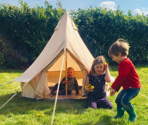 BabyBelle Kid's Outdoor Activity Bell Tent