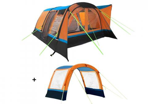 Cocoon Breeze Campervan Awning Orange Package