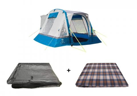 Cubo Breeze Campervan Awning Blue Package, Awning