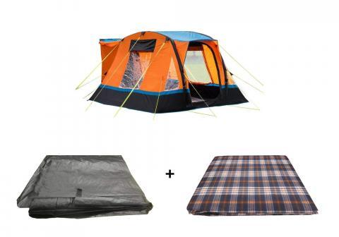 Cubo Breeze Campervan Awning Orange Package