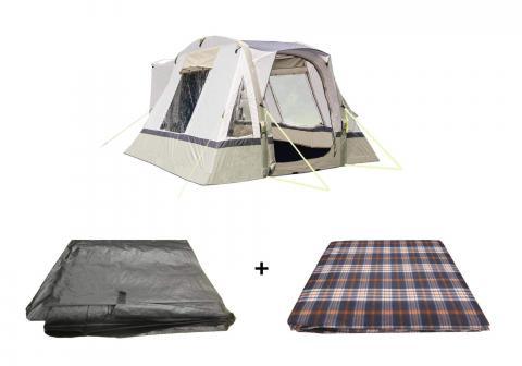 Cubo Breeze Campervan Awning Sage Package