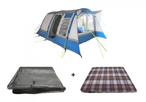Motorhome Cocoon Breeze XL Inflatable Awning Package, Awning, Carpet & Footprint Groundsheet