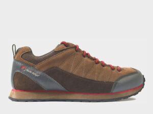 North Ridge Men's Quarry Approach Shoe, BROWN RED/MENS