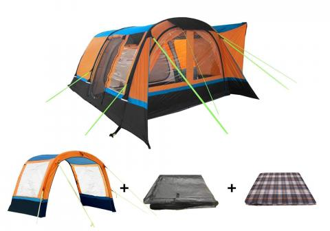 The Cocoon Awning Package Orange