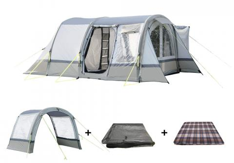 The Cocoon Awning Package Sage/ Chalk