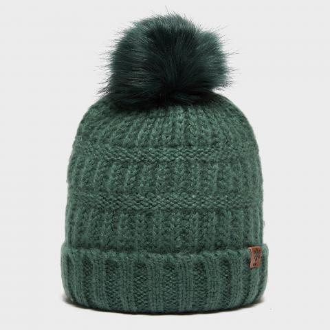 Alpine Women's Josie Bobble Hat, GREEN/GREEN