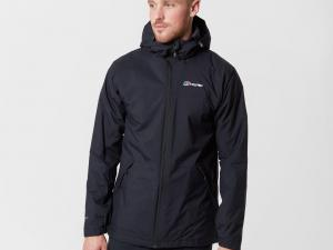 Berghaus Men's Stormcloud Insulated Jacket, Black/Black