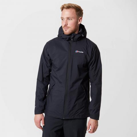 Berghaus Men's Stormcloud Insulated Jacket, Black/Black