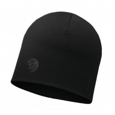 Buff Mens Heavyweight Merino Wool Hat-Black