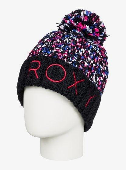 Callie - Pom-Pom Beanie - Black - Roxy