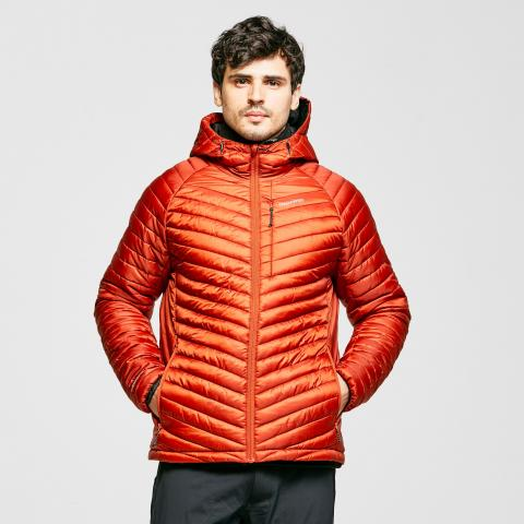 Craghoppers Men's Linex Hooded Insulated Jacket, Orange/Orange