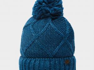 Craghoppers Women's Kendra Beanie Hat, Blue/Blue
