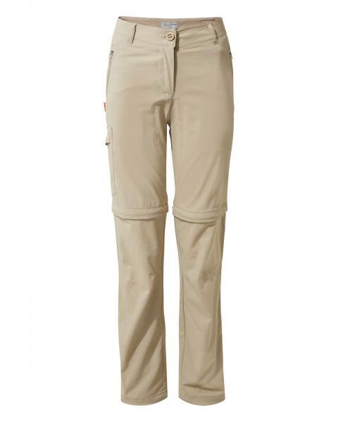 Craghoppers Women's NosiLife Pro Stretch Conv Pants Short Leg