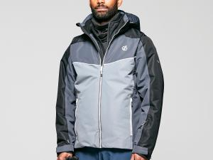 Dare 2B Men's Observe Waterproof Insulated Ski Jacket - Grey/Gry, Grey/GRY