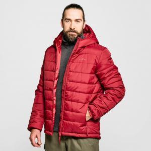 FREEDOMTRAIL Men's Blisco Hooded Jacket, RED/JACKET