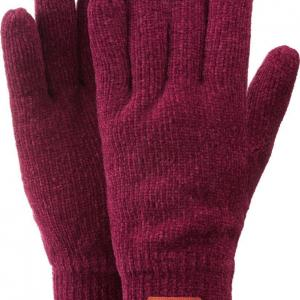HI-GEAR Women's Chenille Glove, AMARANTH/GLOVE