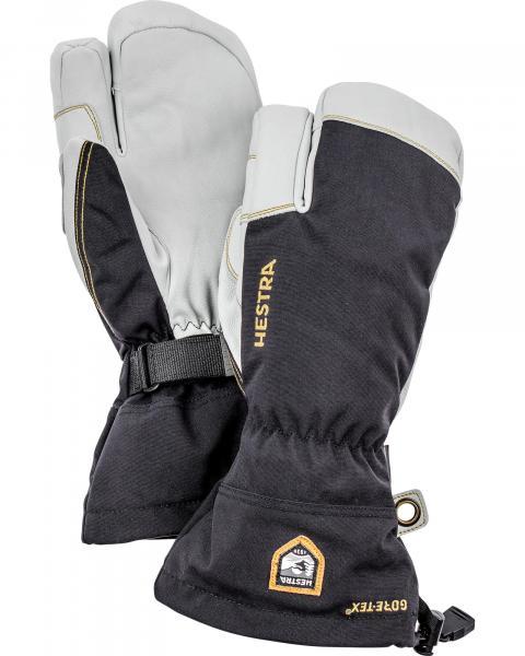 Hestra Men's Army Leather GORe-TeX 3 Finger Ski Gloves