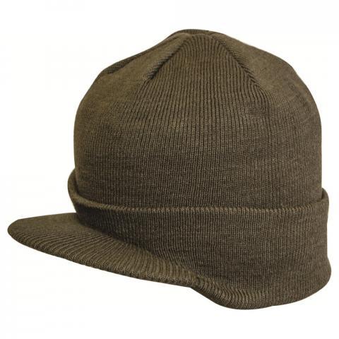 Highlander Knitted Peak Hat