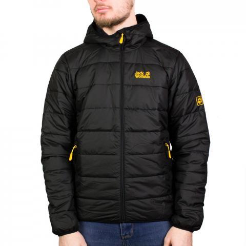 Jack Wolfskin Mens Vingen Insulated Jacket - Black - S