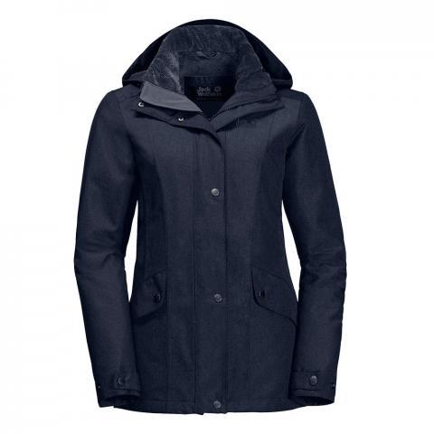 Jack Wolfskin Womens Park Avenue Waterproof Jacket