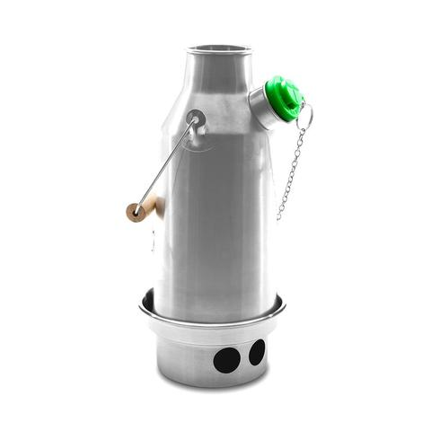Kelly Kettle | Trekker Kettle 0.6 L | Camping Kettle | Stainless Steel