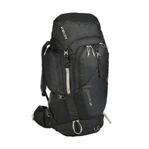 Kelty | Coyote 65 Backpack | Multi-day Hiking Rucksack | Black